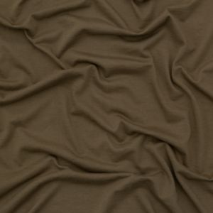 Helmut Lang Army Green Cotton and Cashmere Jersey