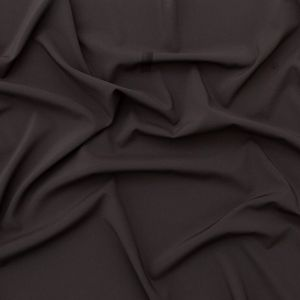 Theory Charcoal Stretch Polyester Crepe de Chine