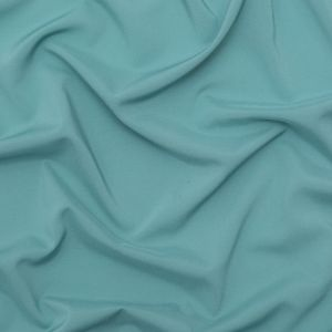 Theory Aegean Blue Stretch Polyester Crepe de Chine