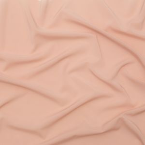 Theory Cameo Pink Stretch Polyester Crepe de Chine