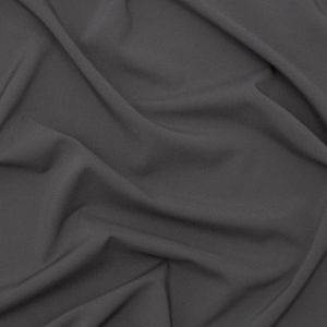 Theory Pewter Stretch Polyester Crepe de Chine