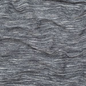 Italian Cool Gray Striated French Terry Knit