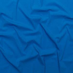 Milly French Blue Stretch Blended Cotton Shirting