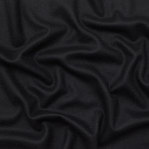 The Row Black and Bright Navy Reversible Wool Double Knit