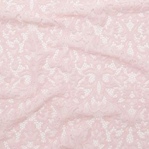 Sepia Rose Re-Embroidered Stretch Lace