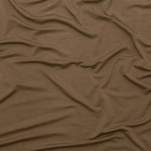 Toasted Coconut Stretch Rayon Jersey