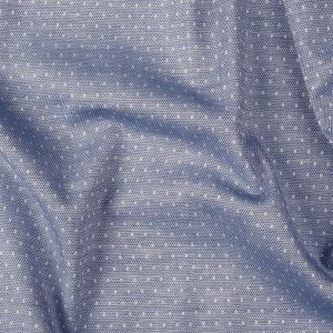 Premium Classic Blue Spotted and Diamond Patterned Cotton Shirting