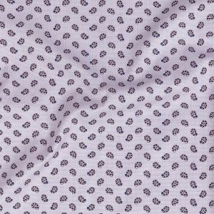 Premium Lilac, Blue and Red Paisley Printed Cotton Shirting