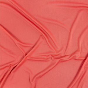 Premium Luca Strawberry Pink Polyester Pongee Knit Lining