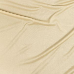 Premium Luca Beige Polyester Pongee Knit Lining
