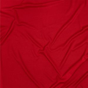 Premium Luca Red Polyester Pongee Knit Lining