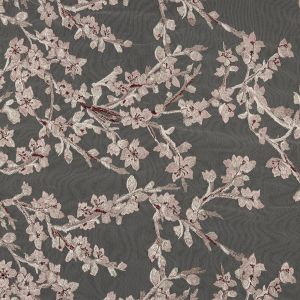 Angelino Pink Floral Embroidered Lace
