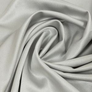 Isla Gray Lux Polyester Crepe Back Satin