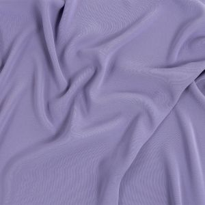 Premium Suzie Dusty Lilac Polyester 4-Ply Crepe