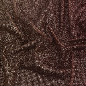 Starlet Luxury Maroon and Gold Ombre Tulle with Metallic Platinum Glitter