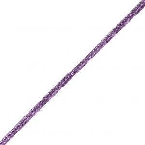 Purple Braided Cord with Lip - 0.25