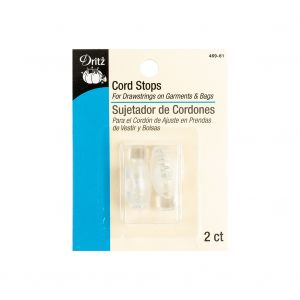 Dritz Clear 2 Count Cord Stops