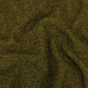Chartreuse Marbled Boiled Wool