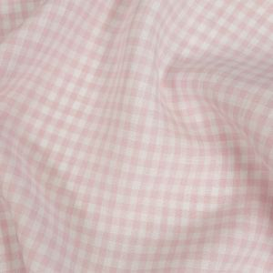 Torres Candy Pink and White Linen Gingham