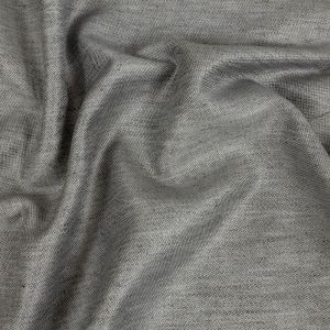 Toledo Heathered Gray Cotton, Tencel and Linen Blended Woven
