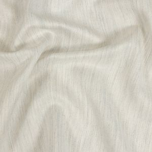 Toledo Heathered Ivory Cotton, Tencel and Linen Blended Woven
