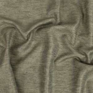 Toledo Heathered Olive Cotton, Tencel and Linen Blended Woven