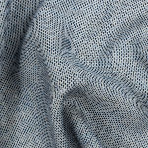Baby Blue and Slate Two-Tone Linen Tweed