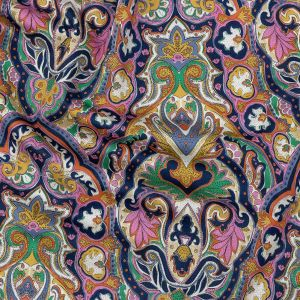Mood Exclusive Multicolor Archway Arabesque Stretch Cotton Sateen