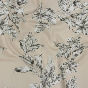 Mood Exclusive Turtledove Snapdragon Sketches Sustainable Viscose and Linen Woven