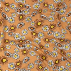 Mood Exclusive Creamsicle Lazy Daisy Days Rayon Batiste