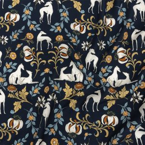 Mood Exclusive Fae Hounds Viscose Twill