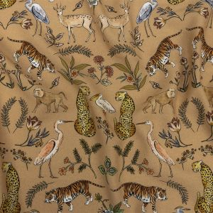 Mood Exclusive Beige Wild Thing Viscose Twill