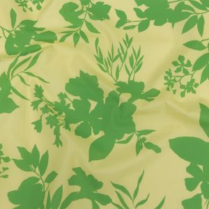 Mood Exclusive Mellow Yellow Sprouting Silhouettes Cotton Poplin