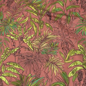 Mood Exclusive Pink Parfait Banana Tree Stretch Cotton Sateen