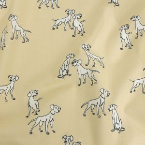 Mood Exclusive Cuddly Canines Cotton Poplin