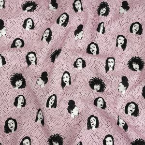 Mood Exclusive Hairspray Stretch Brushed Cotton Twill