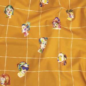Mood Exclusive Marigold Outside the Box Stretch Brushed Cotton Twill