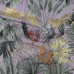 Mood Exclusive Jungle Jumble Crinkled Cotton Voile