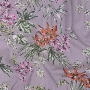 Mood Exclusive Lavender Delicate Indulgence Crinkled Cotton Voile