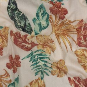 Mood Exclusive Foliage Infatuation Crinkled Cotton Voile
