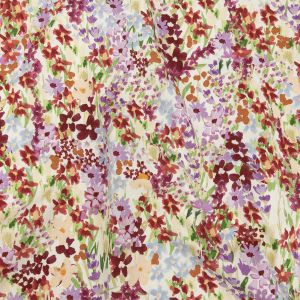 Mood Exclusive Off-White Wildflowers Willing Stretch Cotton Twill