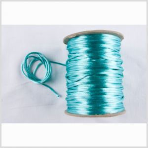 2mm Turquoise Rattail Cord
