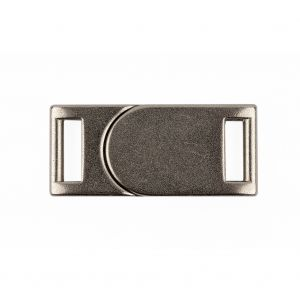 Italian Silver Two Piece Magnetic Snap Closure - 1.5