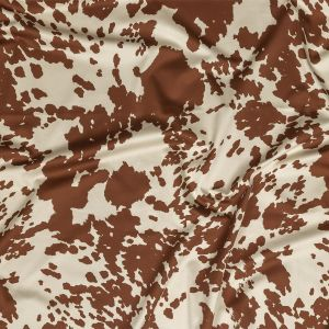 Mood Exclusive Brown Patina Bovine Best Stretch Cotton Sateen