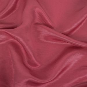 Turia French Rose Satin-Faced Linen and Silk Dupioni