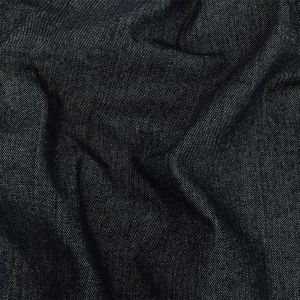 Heavyweight Bright Navy Cotton Denim Twill with Give