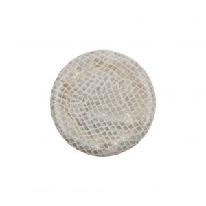 Snake and White Shank Back Plastic Button - 34L/21.5mm