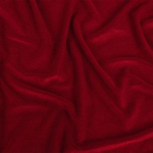 Red Radiant Rayon French Terry