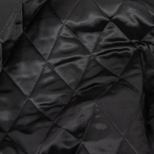 Theory Black Diamond Quilted Coating