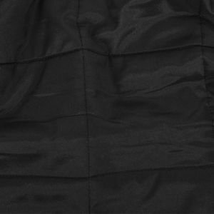 Theory Black Large Squares Quilted Coating